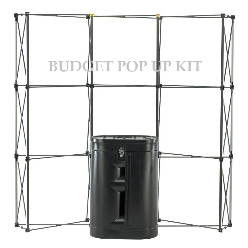 3x3 Pop Up Display Stand Kit £329 - ES