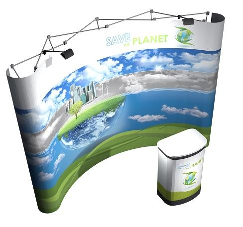 3x4 Pop Up Display Stand £429 - ES