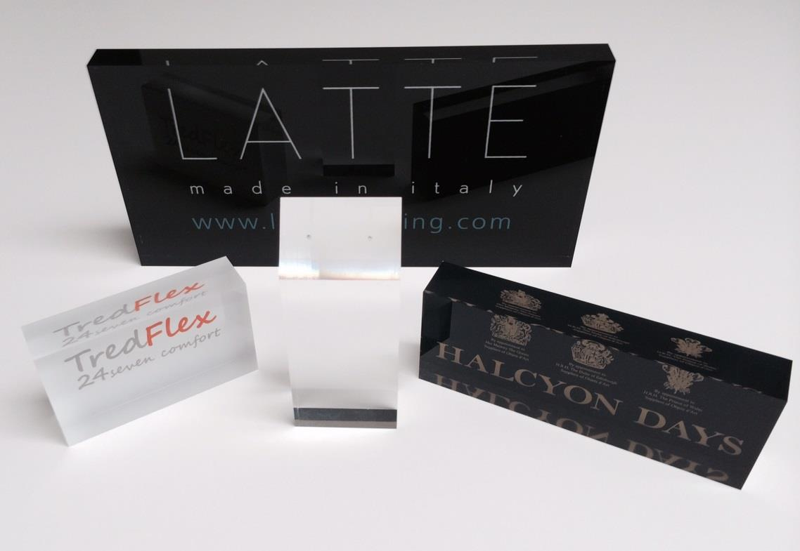 Acrylic Block - Printed - Branded