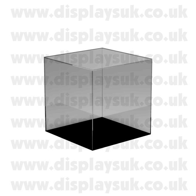 Perspex Acrylic Display Case Cube & Base