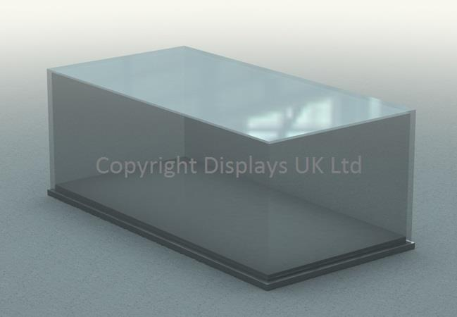 Rectangular Acrylic Display Case & Base