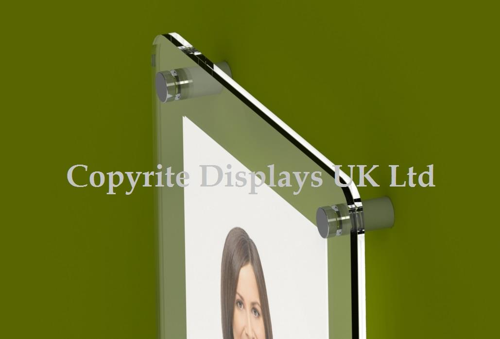 Acrylic Photo / Poster Frame - Rounded Corners