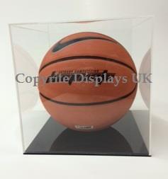 Acrylic Basket Ball Display Case