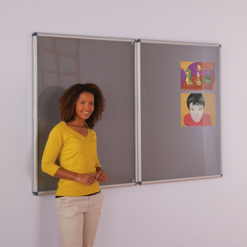 Aluminium Framed Tamperproof Felt Noticeboards