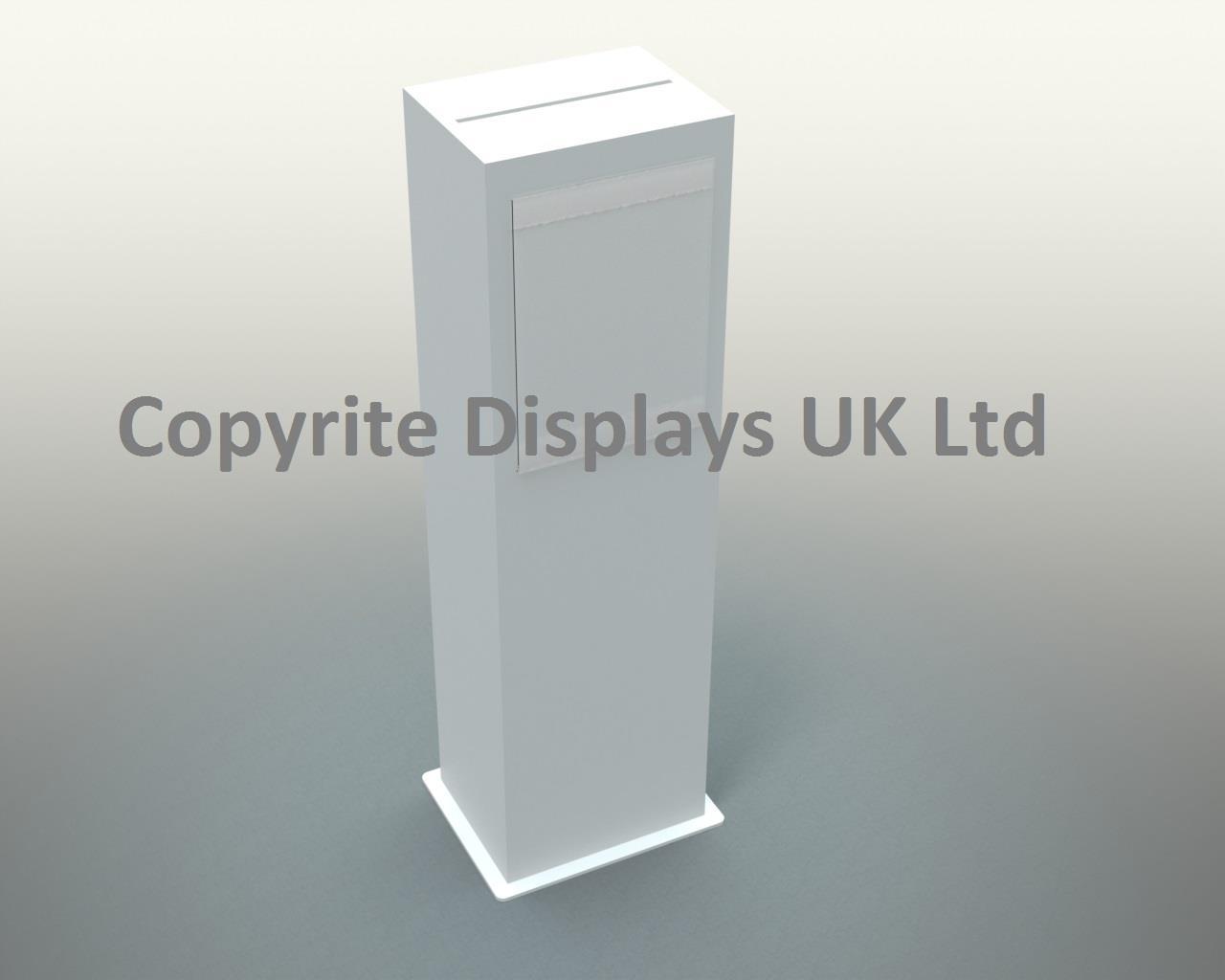 Tall Suggestion Ballot Box - Freestanding